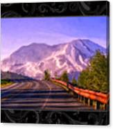 All Roads Lead To The Mountain Canvas Print