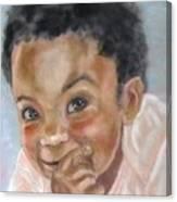 All Smiles Canvas Print
