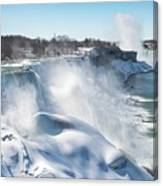 All The Falls Canvas Print