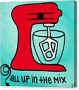 All Up In The Mix Canvas Print