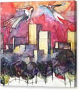 Alla Ricerca Dell'anima Gemella Canvas Print