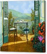 Alle Dieci Del Mattino Canvas Print