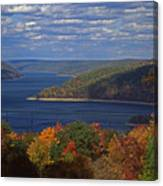 Allegheny National Forest Lake  Canvas Print