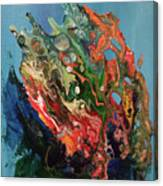 Allegorical Aftermath Canvas Print