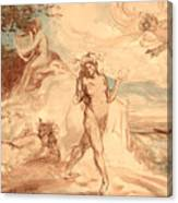 Allegorical Subject Canvas Print