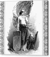 Allegory: Columbia, C1870 Canvas Print