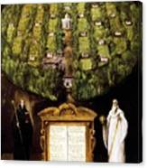 Allegory Of Camaldolese Order 1600 Canvas Print