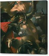 Allegory Of Fortune Canvas Print
