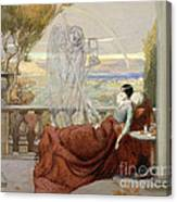 Allegory Of Tuberculosis, 1912 Canvas Print