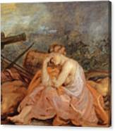 Allegory Of War Canvas Print