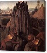 Allegory With A Virgin 1479 80 Hans Memling Canvas Print