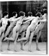 Allen Chorus Line, 1920 - To License For Professional Use Visit Granger.com Canvas Print