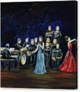 Allen Myers' Jazz Orchestra Canvas Print