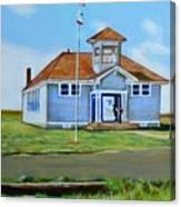 Allensworth School Canvas Print