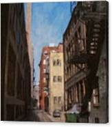 Alley 3rd Ward Canvas Print