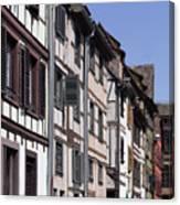 Alley In La Petite France Canvas Print