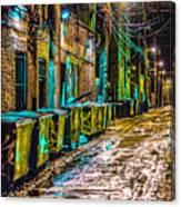 Alley In Uptown Chicago Dsc2687 Canvas Print