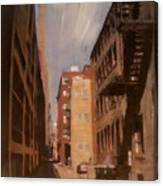 Alley Series 1 Canvas Print
