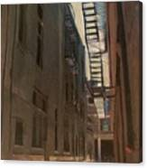 Alley Series 5 Canvas Print