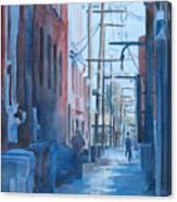 Alley Shortcut Canvas Print