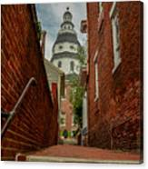 Alley View Canvas Print