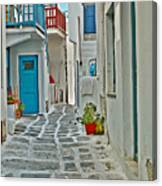 Alley Way Canvas Print