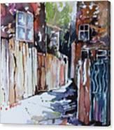Alleyway Passage Canvas Print