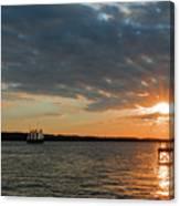 Alliance Sunset Sail Canvas Print