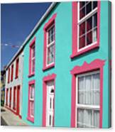 Allihies Streetscape West Cork Canvas Print