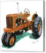 Allis Chalmers Tractor Canvas Print