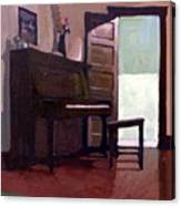 Allison's Piano Canvas Print