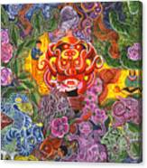 Allpa Manchari Canvas Print