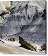 Allstrom Point Rocks 2436 Canvas Print