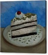 Almond Cake Canvas Print