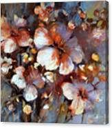 Almonds Blossom  3 Canvas Print