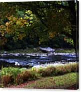 Almost Autumn Canvas Print