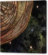 Almost Cosmos Canvas Print