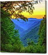 Almost Heaven - West Virginia 3 - Paint Canvas Print