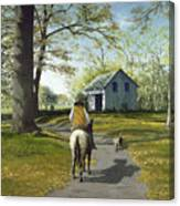 Almost Home 16x20 Canvas Print