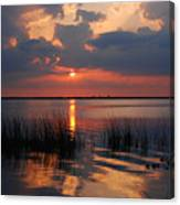 Almost Sunset In Florida Canvas Print
