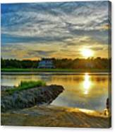 Almost Sunset In Pawleys Island Canvas Print