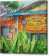 Alohaman Canvas Print