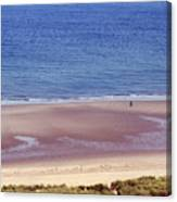 Alone On The Beach Canvas Print