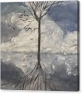 Alone Tree Canvas Print