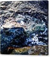 Alone With Sea Canvas Print