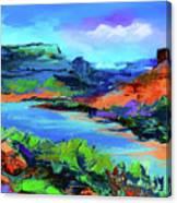 Along Colorado River - Utah Canvas Print