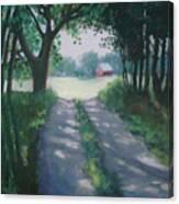 Along Kelderhouse Road Canvas Print