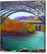 Along Kelly Drive Canvas Print
