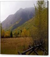 Along The Alpine Loop Canvas Print