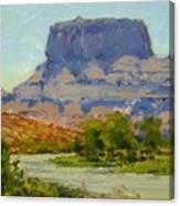 Along The Colorado River Canvas Print